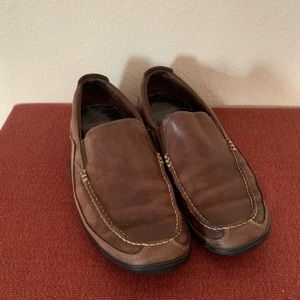 Cole Haan- Brown Leather Loafers